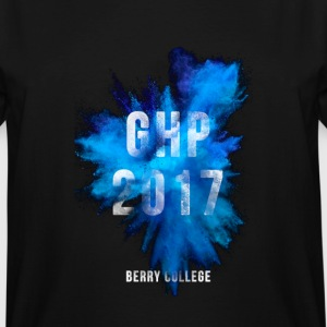 Blue GHP 2017 Berry College - Men's Tall T-Shirt
