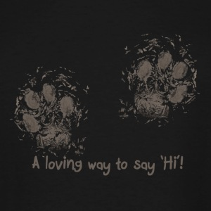 A loving way to say 'Hi'! - Men's Tall T-Shirt