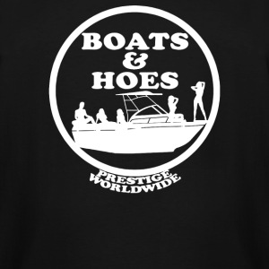 Boats and Hoes - Men's Tall T-Shirt