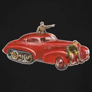 Red Halftrack Coupe - Men's Tall T-Shirt