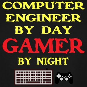 COMPUTER ENGINEER GAMER - Men's Tall T-Shirt
