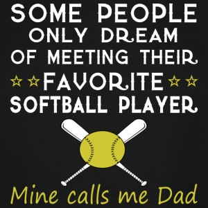 SOFTBALL DAD T Shirt - Men's Tall T-Shirt