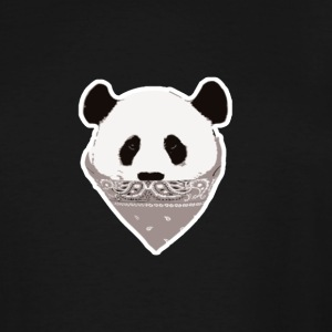 Panda Thug Life - Men's Tall T-Shirt