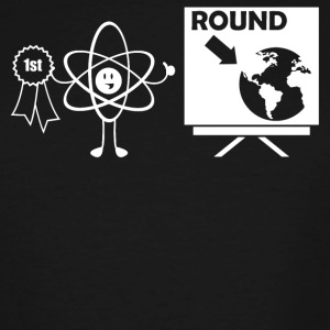 The World is Round - Men's Tall T-Shirt
