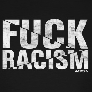 FUCK RACISM (Light Logo) - Men's Tall T-Shirt