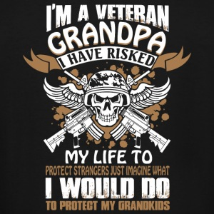 Veteran Grandpa - I'm A Veteran Grandpa T Shirt - Men's Tall T-Shirt