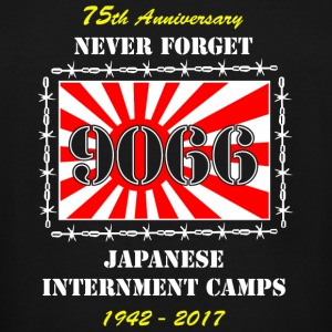 Japan - Japanese Internment Camps 75th Anniversa - Men's Tall T-Shirt