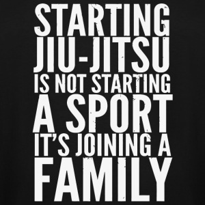 Bjj - Starting Jiu Jitsu Joining Family MMA BJJ - Men's Tall T-Shirt