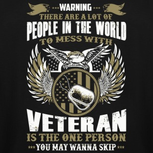 Veteran - People In The World To Mess With Veter - Men's Tall T-Shirt