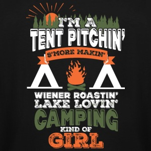 CAMPING - CAMPING KINDA GIRL - Men's Tall T-Shirt