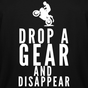 Motorbike - Drop A Gear And Disappear - Men's Tall T-Shirt