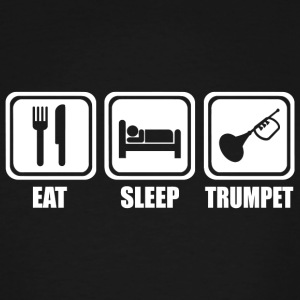 Trumpet - Eat Sleep Play Trumpet - Men's Tall T-Shirt
