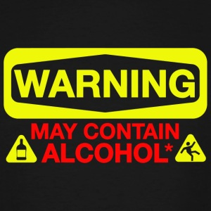 Alcohol - May Contain Alcohol - Men's Tall T-Shirt
