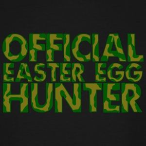 Hunter - Official Easter Egg Hunter - Men's Tall T-Shirt