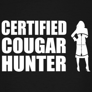 Hunter - Certified Cougar Hunter - Men's Tall T-Shirt