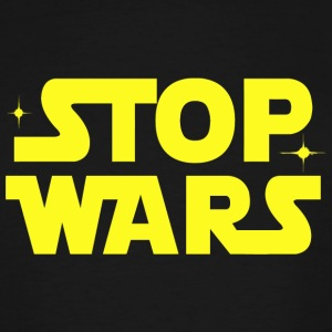 War - Stop Wars - Men's Tall T-Shirt