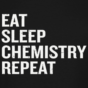 Chemistry - Funny Eat Sleep Chemistry Repeat Sci - Men's Tall T-Shirt