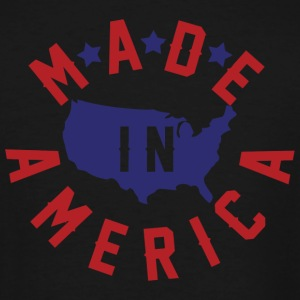 America - Made In America - Men's Tall T-Shirt
