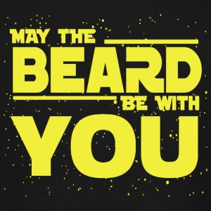 Beard - Beard May The Beard Be With You - Men's Tall T-Shirt