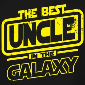 Uncle - The Best Uncle In The Galaxy - Men's Tall T-Shirt