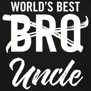 Uncle - Mens World's Best Bro Uncle, Funny Pregn - Men's Tall T-Shirt