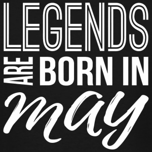 May - Legends Are Born In May - Birthday gift f - Men's Tall T-Shirt