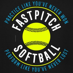 Softball - Fastpitch Softball - Men's Tall T-Shirt