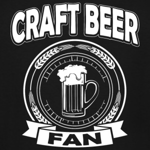 Beer - Craft Beer Fan - Men's Tall T-Shirt