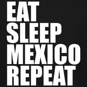 Mexican - Eat Sleep Mexico Repeat Vacation Mexic - Men's Tall T-Shirt