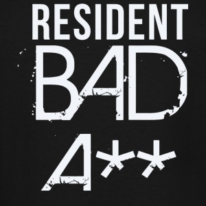 Resident - Resident Bad A** - Men's Tall T-Shirt