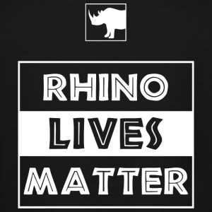 Rhino - Rhino Lives Matter - Men's Tall T-Shirt