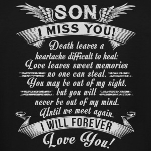 Son - Son I Miss You T Shirt - Men's Tall T-Shirt