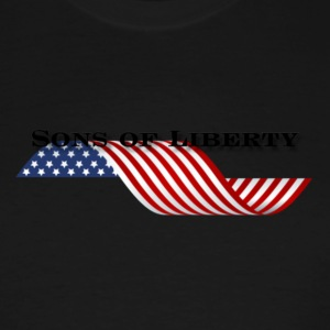 sons of liberty flag - Men's Tall T-Shirt