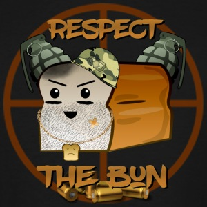 RESPECT THE BUN - Men's Tall T-Shirt