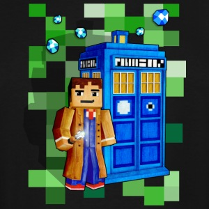 8bit Time Traveler - Men's Tall T-Shirt