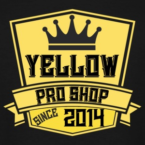 Yellow Pro Shop Logo - Men's Tall T-Shirt