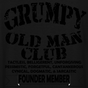 Grumpy Old Man - Men's Tall T-Shirt