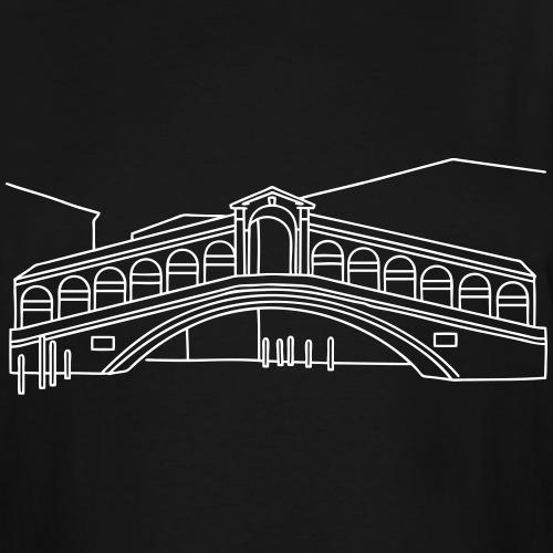 Rialto Bridge Venice - Men's Tall T-Shirt