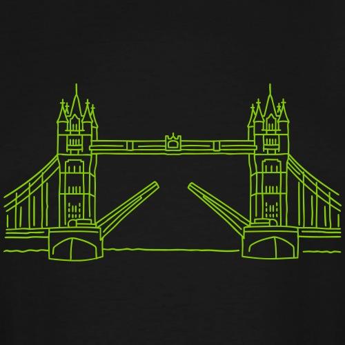 London Tower Bridge - Men's Tall T-Shirt
