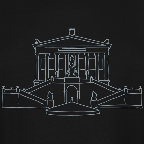 Nationalgalerie Berlin - Men's Tall T-Shirt