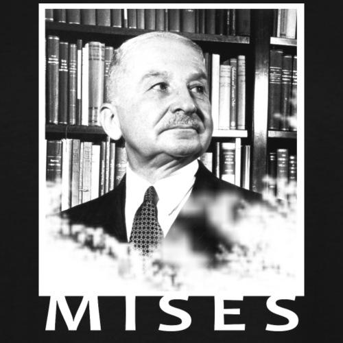 Ludwig von Mises Libertarian Design - Men's Tall T-Shirt