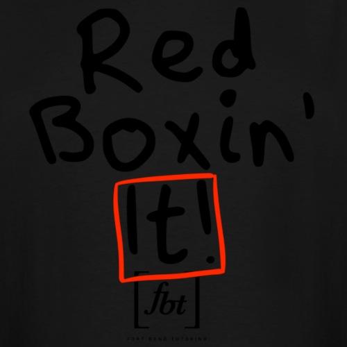 Red Boxin' It! [fbt] - Men's Tall T-Shirt