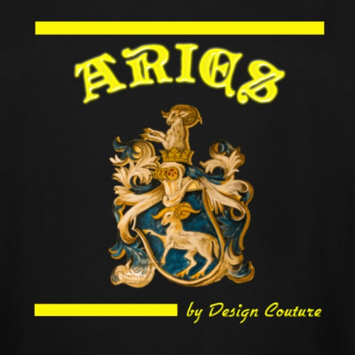 ARIES YELLOW - Men's Tall T-Shirt