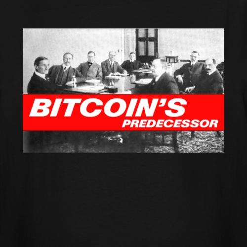 Bitcoin's Predecessor - Men's Tall T-Shirt