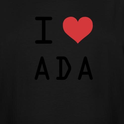 I HEART ADA (Cardano) - Men's Tall T-Shirt