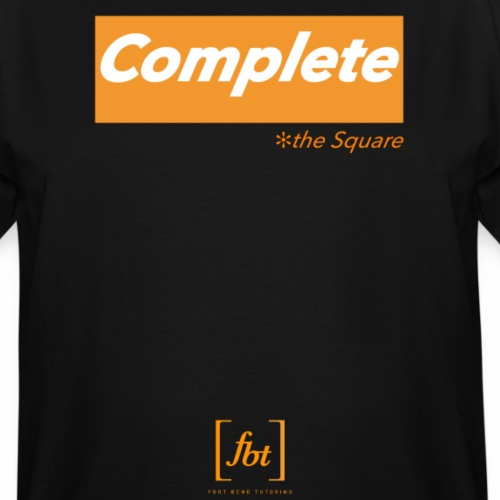 Complete the Square [fbt] - Men's Tall T-Shirt