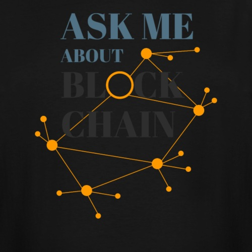 Ask Me About Blockchain - Men's Tall T-Shirt