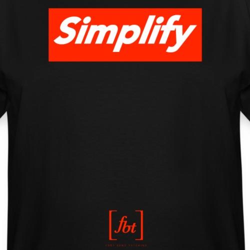 Simplify [fbt] - Men's Tall T-Shirt