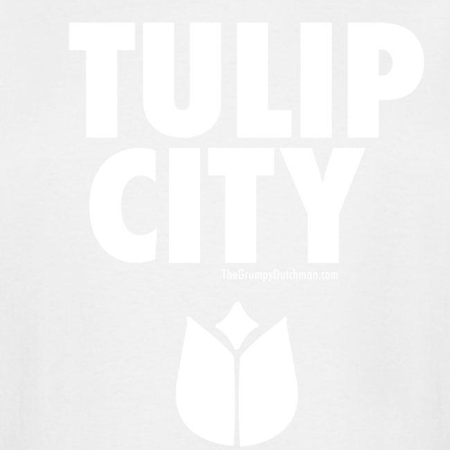 15 Tulip City white lettering