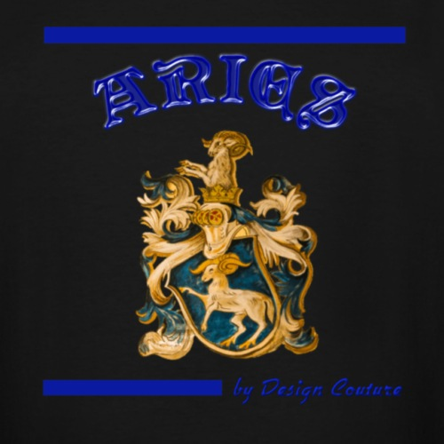 ARIES BLUE - Men's Tall T-Shirt